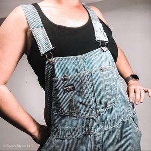 Vintage OshKosh adult Overall stripe utility jeans